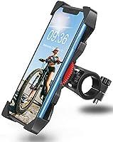 Bovon Soporte Movil Bicicleta, Anti Vibración Soporte Movil Bici Montaña con 360° Rotación para Moto, Universal Manillar...