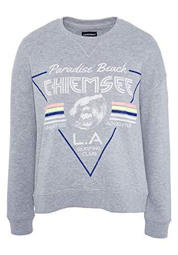 Chiemsee Sweatshirt Woman Felpa, Vapor, L Donna