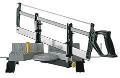 Stanley automatische verstek lading gemaakt van metaal met zaag - fijne zaag met universele zaagblad 13 tanden/inch - 30, 45, 60 & 90° hoek - 1-20-800*