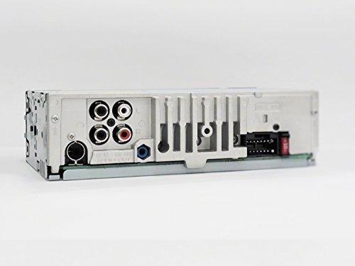 Sony DSX-A410BT MP3 Autoradio (Dual Bluetooth, NFC, USB, AUX Anschluss, Beleuchtung, 4 x 55 Watt, Freisprechen) rot