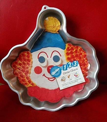 Wilton Kuchenform 1–2-3Circus Clowns # 2105–9474