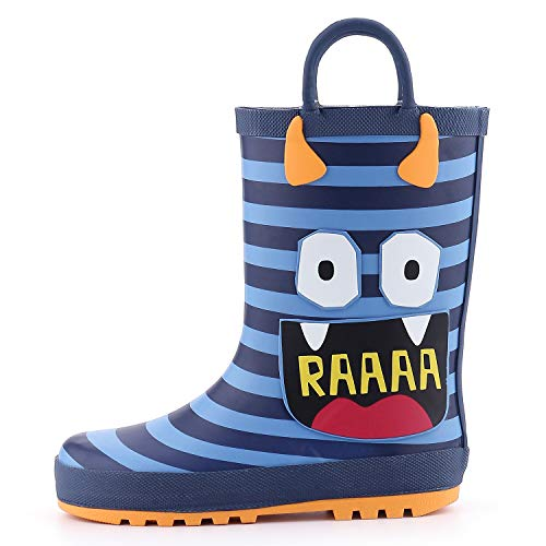 (40% OFF Coupon) Kids Rain Boots With Handles $14.99