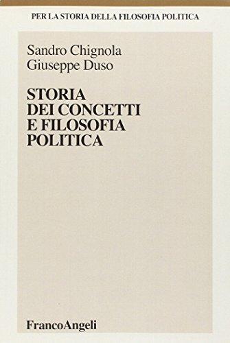Storia dei concetti e filosofia politica