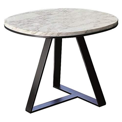 NBVCX Maschinenteile Home D & Eacute; COR Möbel Marmor Modernes Wohnzimmer Seitenakzent Beistelltisch Kleine runde Couchtische 45 / 50cm Wohnzimmer oder Lounge