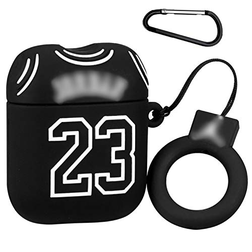Joyleop(Cloth 23) Compatible with Airpods 1/2 Case Cover,3D Cute Cartoon Luxury Funny Fun Classic,Silicone Airpod Character Design Designer Skin Keychain,for Girls Boys Teens Air pods 1&2