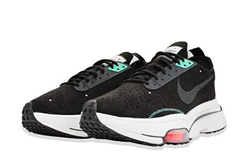 Nike Air Zoom-Type, Sneaker Hombre, Negro/Summit Blanco-Menta-Orange Trance, 40 EU