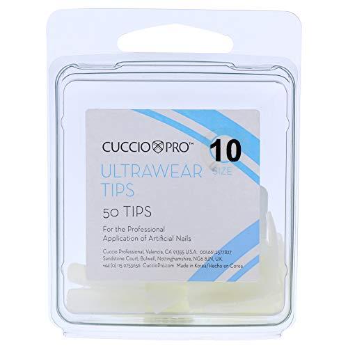 Cuccio Pro Ultrawear Tips 10 by for Women 50 Ongles en Acrylique 50 Unités