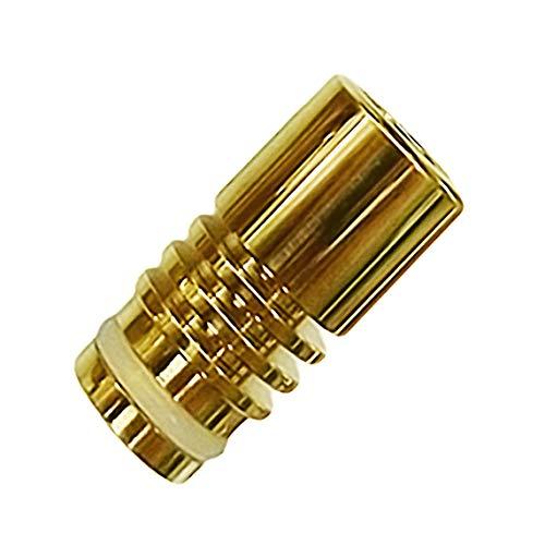 510 Gold Drip Tip, mit 24 Karat vergoldet/galvanisiert, edle Mundstücke für E-Zigaretten, E-Shisha (Typ 82#24k)