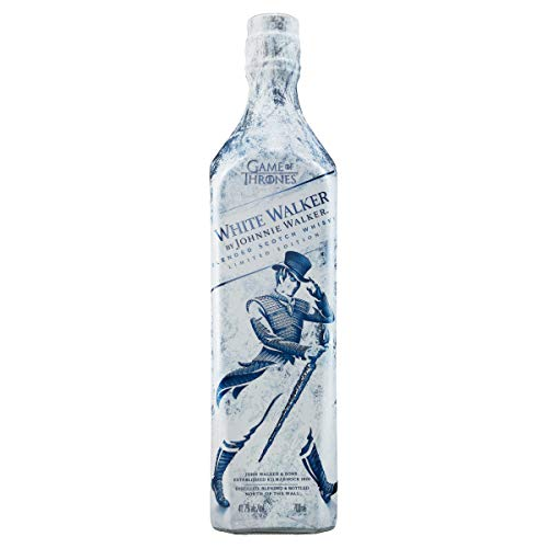 White Walker by Johnnie Walker Blended Scotch Whisky – Game of Thrones Limited Edition – Exklusives Geschenk aus den vier Ecken Schottlands direkt ins Glas – 1 x 0,7l