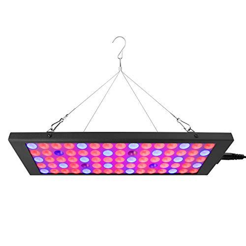 Winbang Lámpara de planta, LED ultrafina Luz de planta Full Spectrum Planta Grow Light Uso interior Luz de inundación 50W 300-830nm