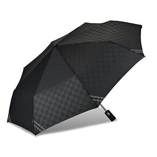 CUBY Paraguas Plegables y Compacto con Apertura y Cierre Automático/M