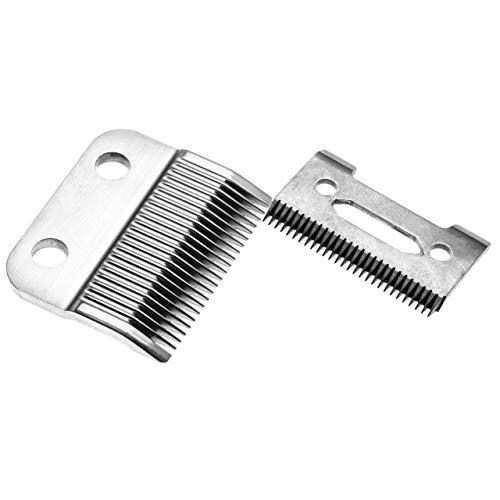 vhbw Juego de corte 2x hojas reemplaza Wahl WA2050-500, WA2470-050 para máquinas de cortar el pelo