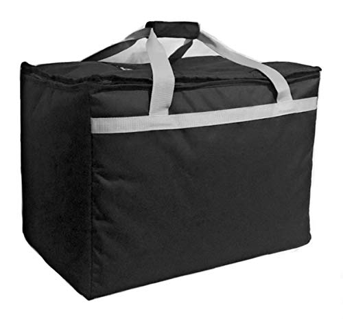 "Candid- Insulated Food Delivery Bag (21""L x 14""W x 15""H), Hot/Cold Thermal Lightweight Grocery, Catering, Delivery or Party Bag."