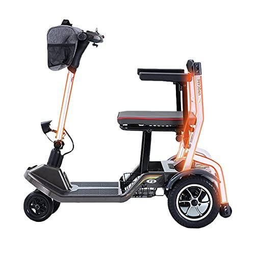 RUZNBAO Silla de ruedas para adultos Ligera Silla de Ruedas eléctricas Scooter...