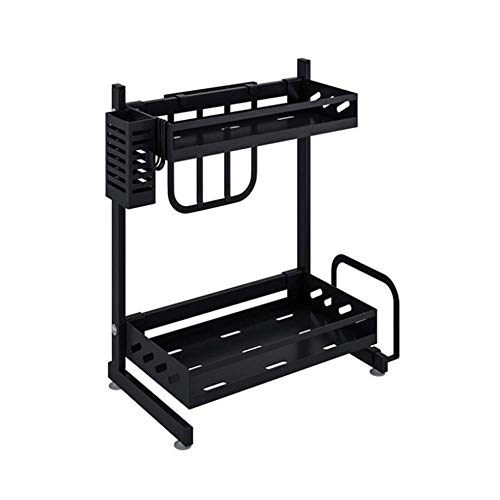 ZYL-YL Drain Rack Dish Drying Rack Over The Sink For Kitchen Counter, Stainless Steel Drain Bowl Dish One Size Dish Drainer (Color : Picture Color, Size : Picture Size)