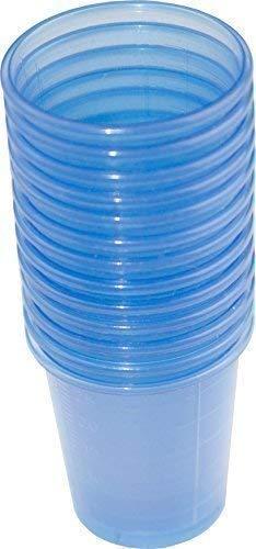 Medi-Inn Medikamentenbecher Medizinbecher Schnapsbecher blau 80er Pack (1 x 80 Stück)