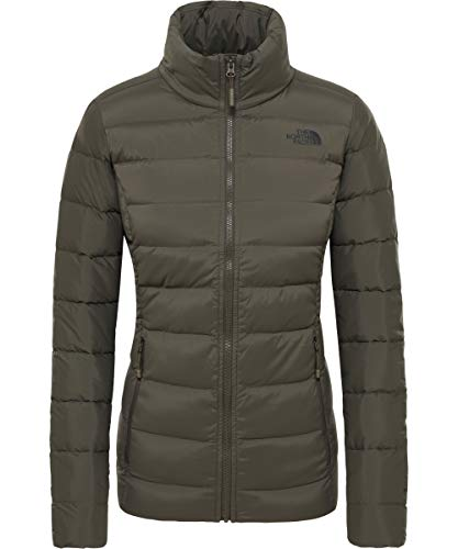 THE NORTH FACE Damen Stretch Daunenjacke L New Taupe Green