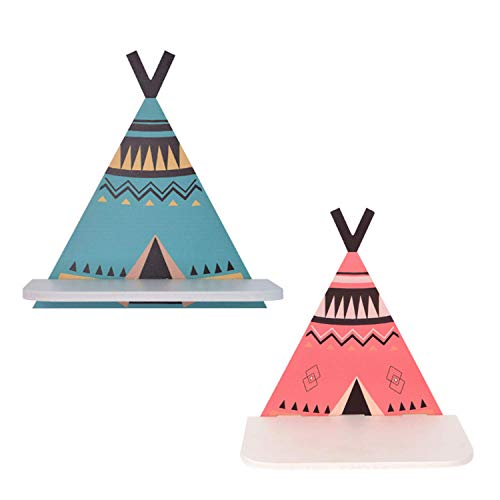 Tent Rack Set of 2 - Blue Red