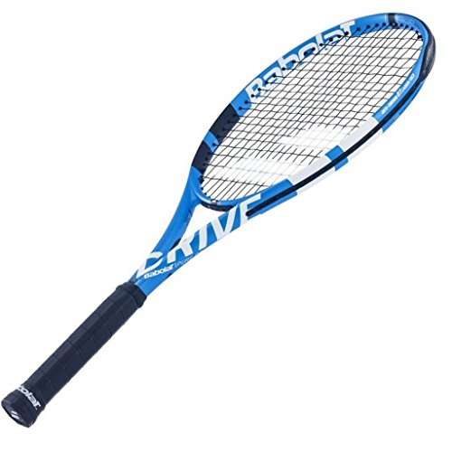 Babolat 2018 Pure Drive Tennis Racquet - Quality String (4-1/4)