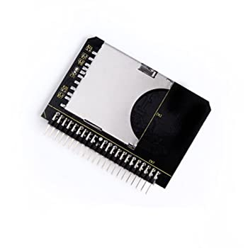 SD SDHC SDXC MMC Memory Card to IDE 2.5  44 Pin Male Adapter Converter