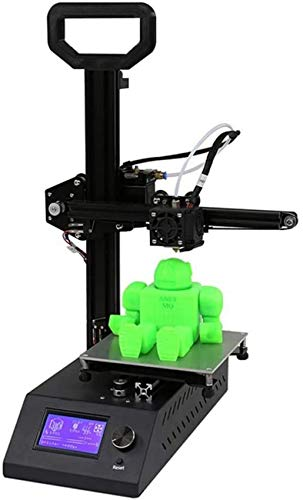 Mini 3D Printer A9 3D Printer Upgraded Full Metal (160 * 160 * 200 Mm) Build Plate, Fully Assembled PLA Filament SD Card Printable 3D Models