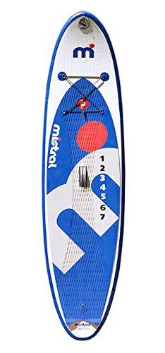 MISTRAL Stand up Paddle Board SURF 8'6 Junior Kid-SUP Aufblasbare, Weiß, M
