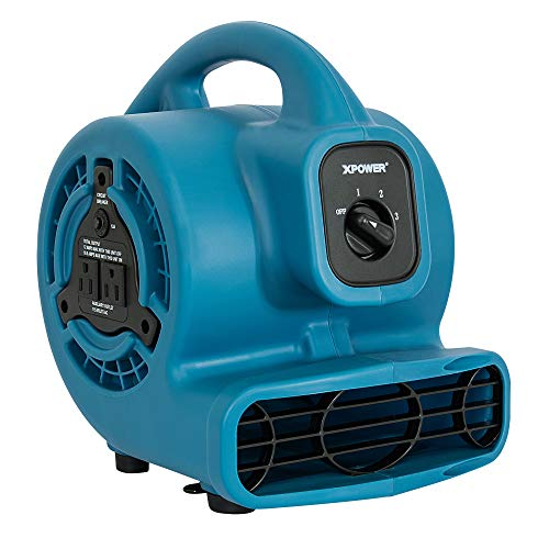 XPOWER P-80A Mini Mighty Air Mover Utility Fan