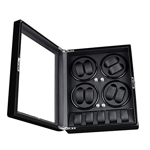 UNU_YAN Uhrensammelbox Automatik-Wickeltischbox Rotating Shake Table