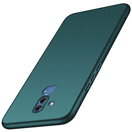 Avalri Funda para Huawei Mate 20 Lite, Diseño Minimalista Estuche Rígido Ultra Delgado de PC a Prueba de Golpes Resistente a Rasguños Cover para Huawei Mate 20 Lite (Grava Verde)