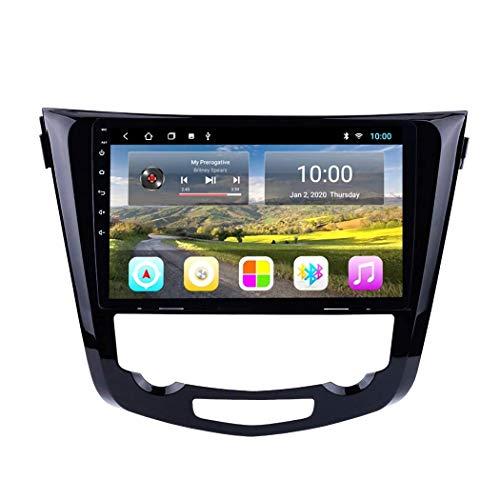LXDDP Android 10 Reproductor Multimedia para Coche navegación GPS Compatible con Nissan Qashqai X-Trail 2013-2016, Radio estéreo para Coche Autoradio
