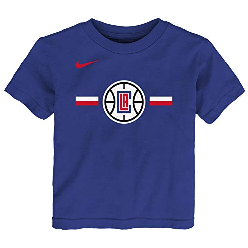 Nike NBA Little Boys Toddler (2T-4T) & Kids (4-7) Essential Logo Tee, Los Angeles Clippers 4T
