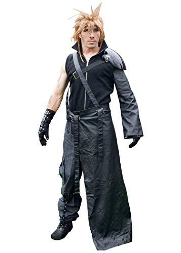 DAZCOS Adult US Size Dark Cloud Strife Cosplay Costume with Shoulder Armor (Medium)