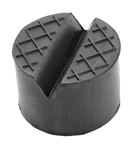 100x50mm mit V-Nut/Waffel Gummiauflage Gummi-Unterlage Auflage Wagen-Heber Hebebühne rund Auto Klotz Rangier-Wagenheber Puffer Reifen Reifenwechsel LKW Räder KFZ Tuning Zubehör