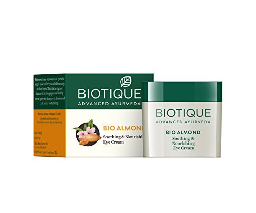 Biotique Bio Wheat Germ FIRMING FACE and BODY NIGHT CREAM For Normal To Dry Skin, 50G And Biotique Bio Almond Soothing And Nourishing Eye Cream, 15g