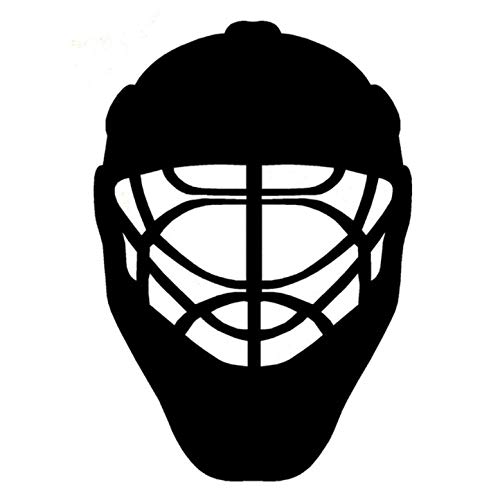 Empty 4 STK. Autoaufkleber Aufkleber 15,8 cm * 22,8 cm Autozubehör Sport Eishockey Helm Karosserie Autoaufkleber