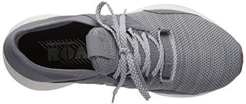 New Balance Women's Fresh Foam Roav V1 Sneaker, GUNMETAL/LIGHT ALUMINUM, 9 M US 6