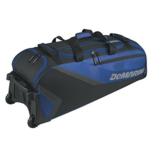 DeMarini Grind Wheeled Bag, Royal