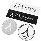 TokyoCamp オリジナルロゴステッカー 4枚セット
