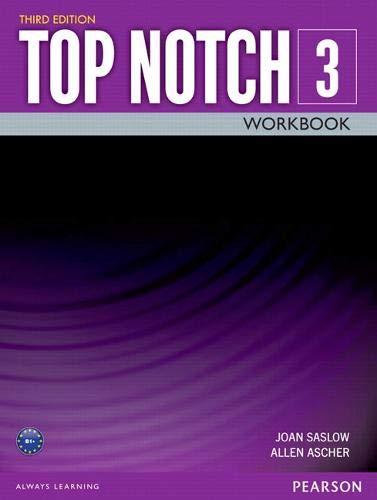 TOP NOTCH 3 3/E WORKBOOK 392817