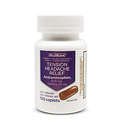 Fast Tension Relief – Containing 500mg of Acetaminophen our tension headache relief medicine is a powerful pain reliever for stiff necks and sore, aching shoulders. Joint and Muscle Pain – Along with headaches and migraines our extra strength acetami...
