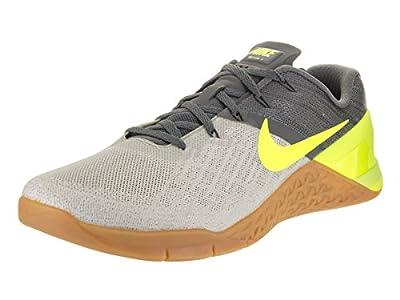 Nike New Men's Metcon 3 Cross Training Sneaker (9, Wolf Grey/Tart/Dark Grey)