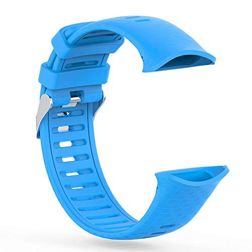SKYSE Stilvolles Silikonarmband Sportuhr Ersatzarmband mit Schnalle Flexibles Unisex-Armband Kompatibel mit Polar Vantage V