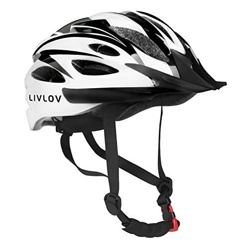 LIVLOV Bike Helmet for Adult Men Women Bicycle Helmet with Detachable...