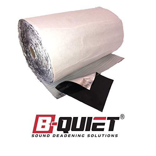 B-Quiet Ultimate The Best Viscoelastic Sound Deadener 50 Sq....
