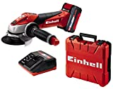 Einhell Expert Amoladora TE-AG 18/115 Li Kit Power...