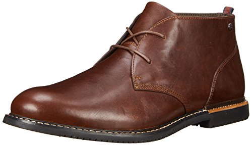 Timberland Men's EK Brook Park Chukka Boot,Red/Brown Smooth,7 M US