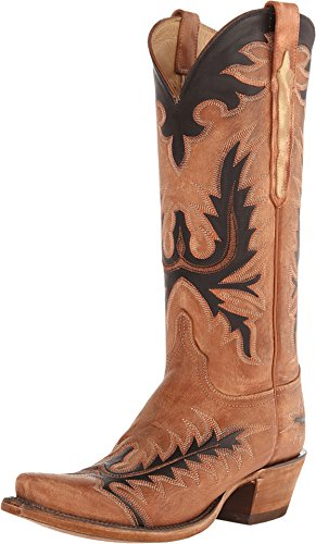 Lucchese Women's L4741.S54 Classic Cowboy Boots Size 9 Tan