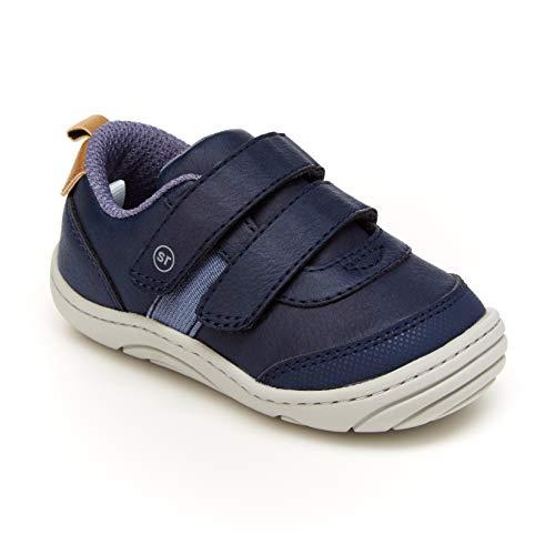 Stride Rite 360 Boy's Wilbur Sneaker, Navy, 4.5 Little Kid