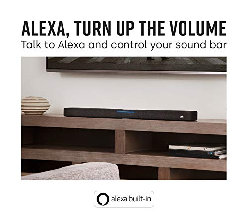 Product Image 2: Polk Audio React Sound Bar, Dolby & DTS Virtual Surround Sound, Next Gen Alexa Voice Engine with Calling and Messaging Built-in — A Certified for Humans Device