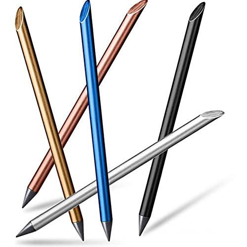 Metal sin tinta bolígrafos de moda 0.5mm Fineline Pintura Dibujo Escritura Beta Pen Oficina Escuela Suministros